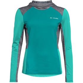 VAUDE Qimsa T-shirt z długim rękawem Kobiety, riviera